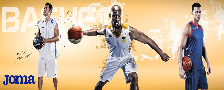 Joma basketball banner - Nordic Basketball