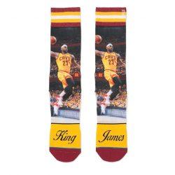Stance Socks / Sokker NBA King James LeBron James Cleveland Cavaliers - Nordic Basketball