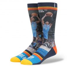 Stance Socks / Sokker NBA Thunder Up Oklahoma City Thunder Russell Westbrook Kevin Durant - Nordic Basketball