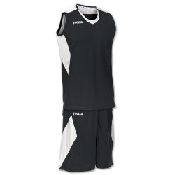 White Joma Set Space Men basketball spillesæt - Sort Hvid - Nordic Basketball