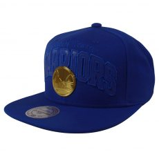 Mitchell & Ness NBA Golden State Warriors Lux Arch Snapback Kasket Cap - Nordic Basketball