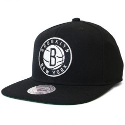 Mitchell & Ness NBA Brooklyn Nets Snapback Cap/Kasket - Nordic Basketball