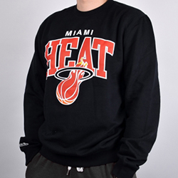 Miami Heat NBA Crew - Mitchell and Ness - Nordic Basketball