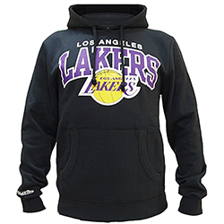 Los Angeles Lakers NBA Sweatshirt - Mitchell and Ness - Nordic Basketball