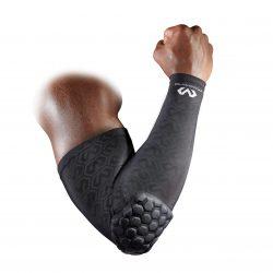 McDavid HexPad sleeve til armen med pude - sort - Nordic Basketball