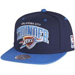 Mitchell & Ness Team Arch NBA Oklahoma City Thunder OKC Snapback Cap Kasket - Nordic Basketball
