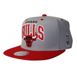 Mitchell & Ness Team Arch NBA Chicago Bulls Snapback Cap Kasket - Nordic Basketball