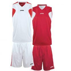 Joma Set Reversible Basketball Spillesæt - rød hvid - Nordic Basketball