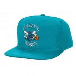 Mitchell & Ness NBA Charlotte Hornets Snapback Cap Kasket - Nordic Basketball