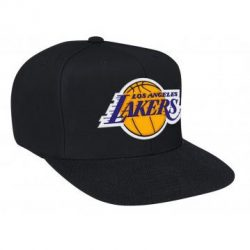 Mitchell & Ness NBA Los Angeles Lakers Snapback Cap Kasket - Nordic Basketball