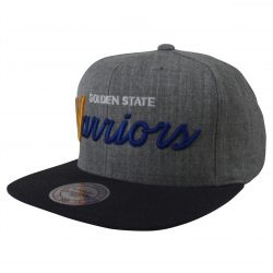Mitchell & Ness NBA Golden State Warriors Snapback Cap Kasket - Nordic Basketball