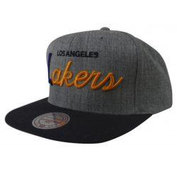 Mitchell & Ness NBA Los Angeles Lakers Snapback Cap Kasket - Nordic Basketball