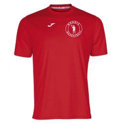 Joma Nordic Basketball T-shirt - Rød