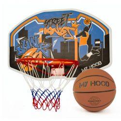 my hood basketkurv på plade og basketball - Nordic Basketball
