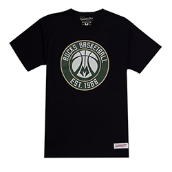 Milwaukee Bucks NBA T-shirt - Mitchell and Ness - Nordic Basketball