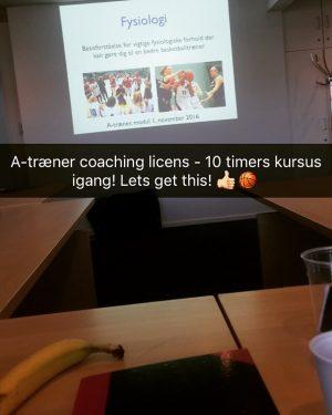 A-Træner Kursus - Nordic Basketball