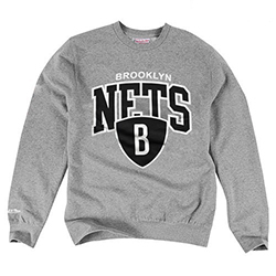 Brooklyn Nets NBA Crew - Mitchell and Ness - Nordic Basketball