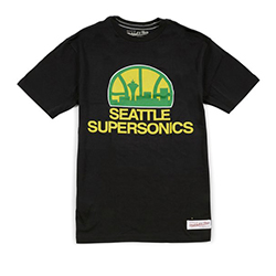 Seattle Supersonics NBA T-Shirt - Mitchell and Ness - Nordic Basketball