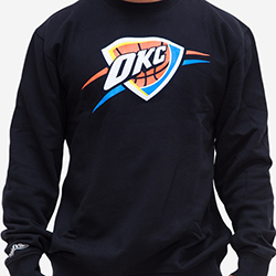 Oklahoma City Thunder NBA Crew - Mitchell and Ness - Nordic Basketball