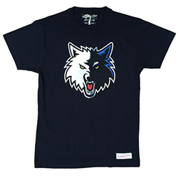 Minnesota Timberwolves NBA T-Shirt - Mitchell and Ness - Nordic Basketball