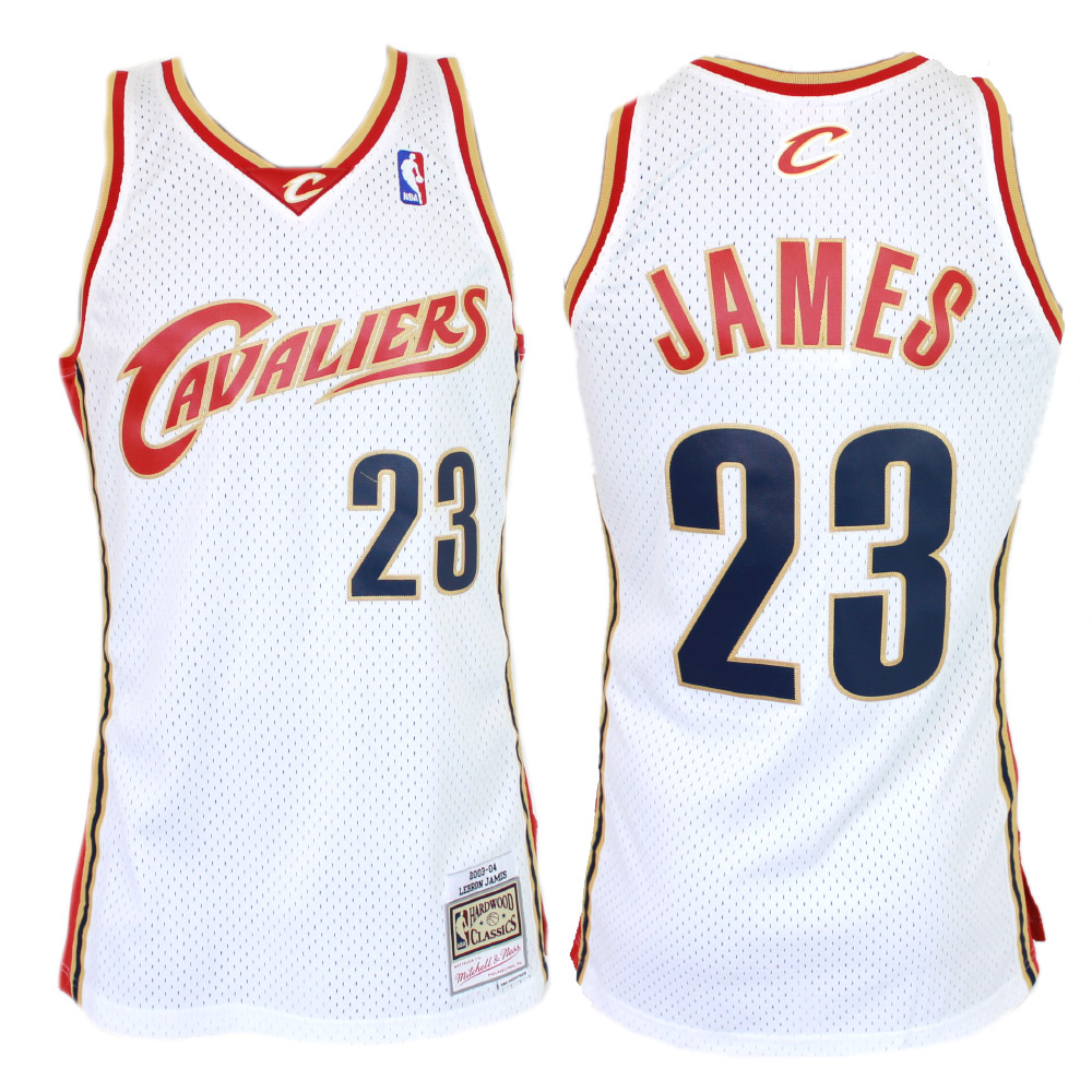 separation shoes 0082a e8013 Mitchell & Ness NBA Swingman Jersey – LeBron James 03/04 - Cleveland  Cavaliers