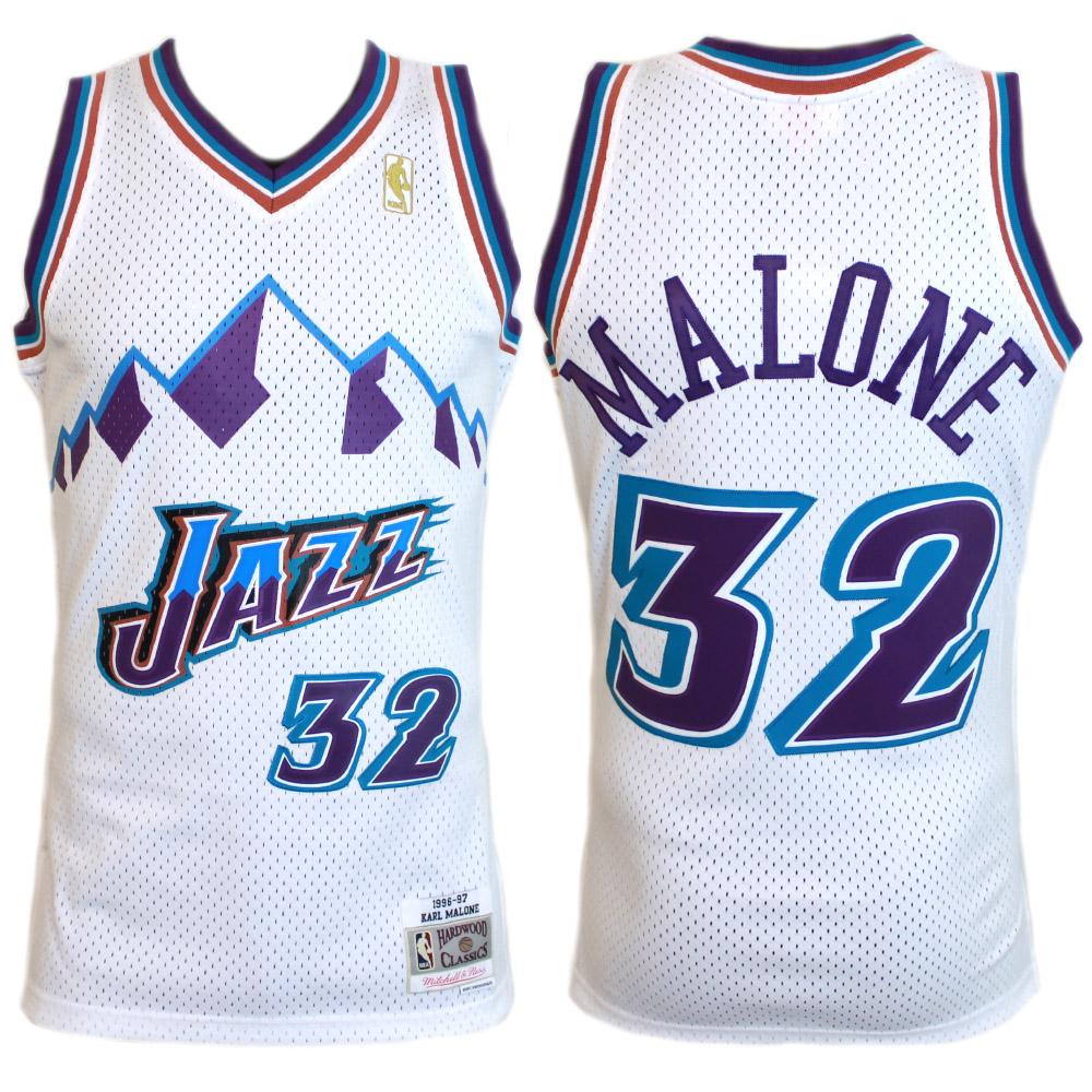 big sale 3a46f 27726 Mitchell & Ness NBA Swingman Jersey - Karl Malone 96/97 - Utah Jazz