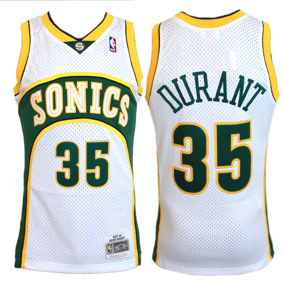new products 826af 4ceb9 Mitchell & Ness NBA Swingman Jersey - Kevin Durant 07/08 - Seattle  Supersonics