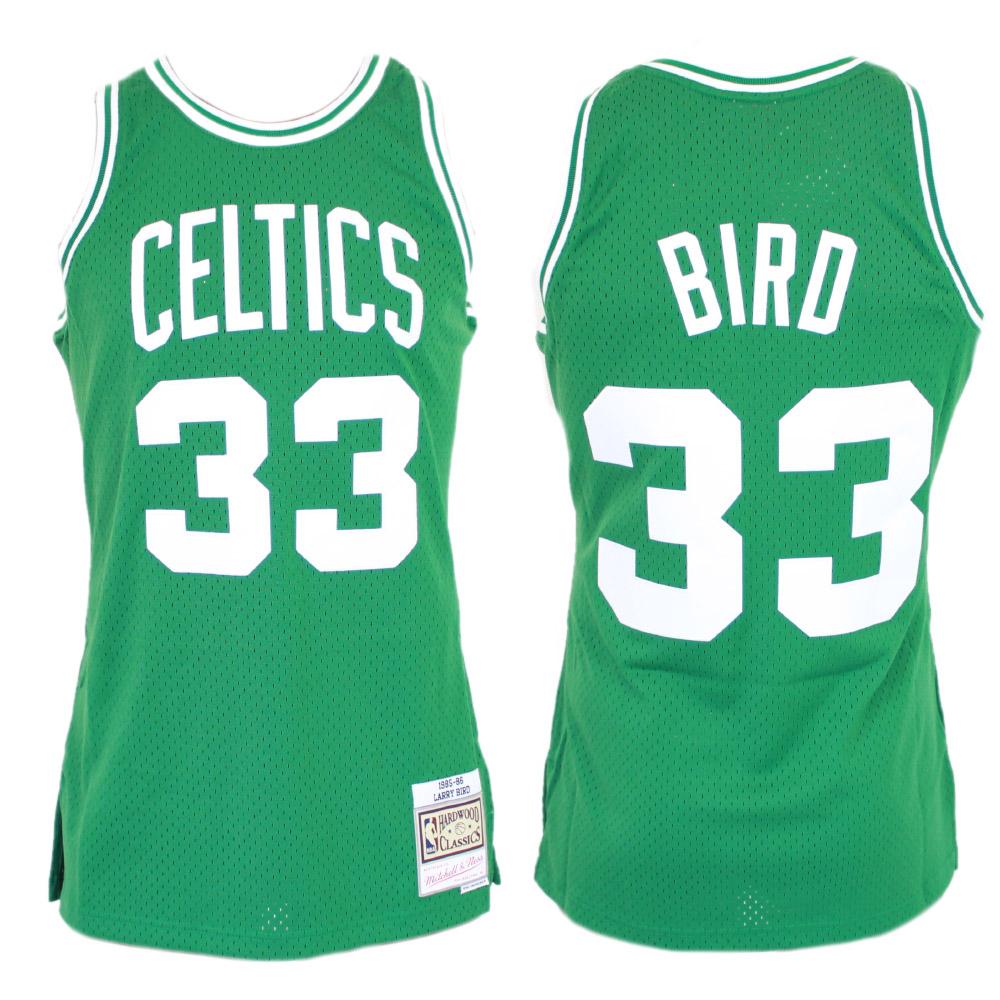 best website 084ee ed508 Mitchell & Ness NBA Swingman Jersey – Larry Bird 85/86 - Boston Celtics